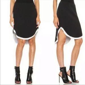 Rag & Bone Ashlee Hi-Low Skirt/Size 4